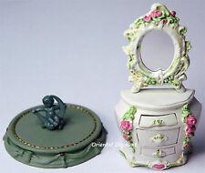 White Rococo Dresser Figure Takara Kaiyodo Miniature Antique Museum Limited 2003