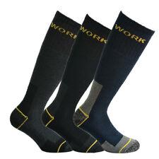 6 paia di calze Fontana da lavoro rinforzate su punta e tallone mod. lungo