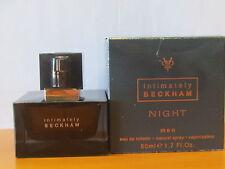 Intimately Beckham Night Men Cologne 1.7 oz Eau De Toilette Spray NIB