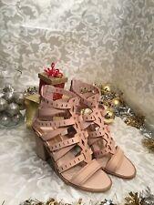 Dolce Vita Gladiator Heel Sandals Beige Sz 7M NEW 😍
