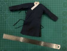 1//6th Scale Marx Black Viking Fur Tunic Belt /& Skirt
