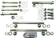 Honda CB250/400N Twin Stainless Steel Mounting Bolt Kit