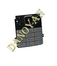 Original Nokia 6300 6300i Tastatur Tastaturmatte Keypad Silber