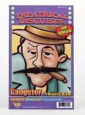 Fake Mustache Gangster French Artist Skinny Moustache Black Stache Facial Hair
