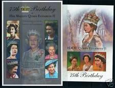 Grenada Gren 2001 Queen's 75th Birthday SG3366/74 MNH