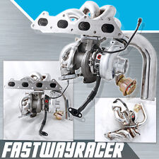 DSM 1G 2G 4G63 2.0L Upgrade Bolt On TD05 TD05H 16G Turbo Charger Kit Oil Feed