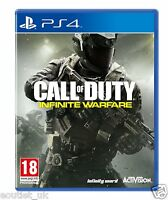 Call of Duty Infinite GUERRA Estándar Edición Bacalao PLAYSTATION 4 JUEGO PS4