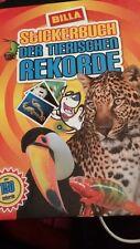 """Billa Stickerbuch """"Die tierischen Rekorde"""", Sticker nicht vollständig"""