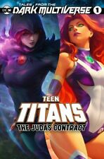 Tales From The Dark Multiverse: The Judas Contract #1 (2019) Artgerm Teen Titans