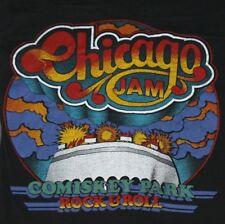 2XS * vtg 70s 1979 CHICAGO JAM fest concert t shirt * blondie beach boys rush