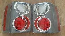 UPGRADE PAIR RED & CLEAR L322 range rover rear lights lamps
