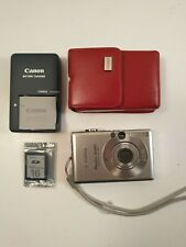 Canon PowerShot Digital ELPH SD450 5.0MP Digital Camera full set extra battery