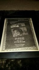 Jimmy Buffett Take Another Road Rare Original Radio Promo Poster Ad Framed!