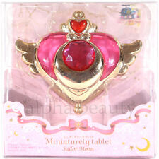 Sailor Moon Japan Miniaturely Tablet Compact Mini Charm Padent - Sprial Heart