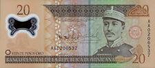 Dominikanische Republik / Dominican Republic 20 Pesos Oro 2009 Pick 182