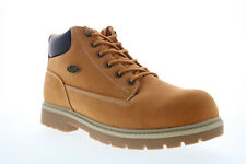 Lugz Warrant Slip Resistant MWARNK-7401 Mens Brown Lace Up Ankle Boots