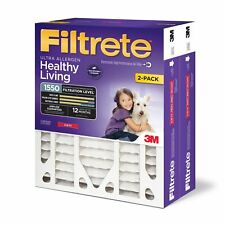 Filtrete Mpr 1550 20 x 25 x 4 (3-3/4 Actual Depth) Healthy Living Ultra Allergen