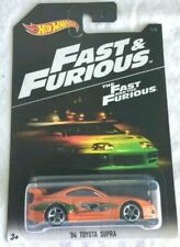 Hot Wheels '94 TOYOTA SUPRA- FAST AND THE FURIOUS (New)