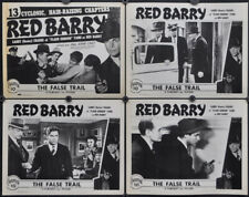 RED BARRY R1948 ORIG 11X14 LOBBY CARD SET CHAPTER 10 BUSTER CRABBE FILMCRAFT INC