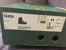 """Danner Men's Crafter Classic 6""""  Waterproof Lace Up Ankle Boots Brown 12435 SZ14"""
