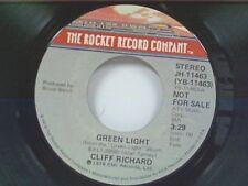 "CLIFF RICHARD ""GREEN LIGHT / MONO"" 45 MINT PROMO"