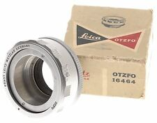 CHROME LEICA FOCUSSING LENS MOUNT ADAPTER 16464 HELICOID CLEAN LEITZ OTZFO BOXED