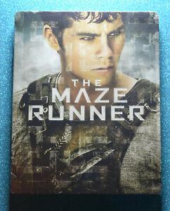 New & Sealed EU Import The Maze Runner Steelbook Blu-ray