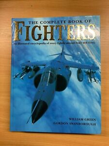 """LARGE HEAVY 1997 """"THE COMPLETE BOOK OF FIGHTERS"""" AIRCRAFT HARDBACK BOOK (XX)"""