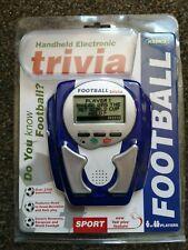 Electrónicos De Mano Fútbol Juego De Trivia más de 2700 preguntas portátil 2001 En Caja