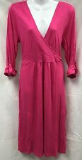 BNWT Pink NEXT Maternity 3/4 Sleeve Wrap Dress Size 16 (£30 on Tag)