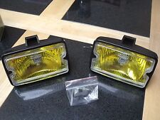 Peugeot 205 GTI driving lights lamps NEW YELLOW LENSE DIMMA XS GT ROLAND GARROS