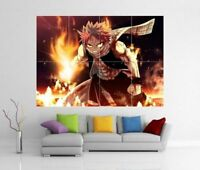 NATSU DRAGNEEL FAIRY TAIL ANIME MANGA GIANT WALL ART PRINT POSTER H248