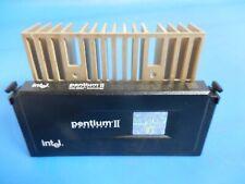 Intel Pentium II MMX 80523PY400512PE 400MHZ Slot 1 CPU SL2U6 & Heatsink
