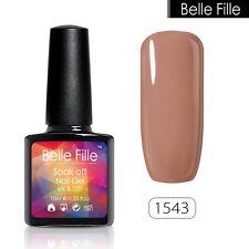 BELLE FILLE Nail Art Gel Polish Varnish UV&LED Soak off 10ml Manicure DIY #1543