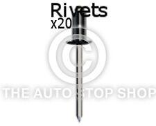 Remaches Uñas 2,9 Uso Con Asiento sujetadores 5mm Renault Sandero Etc 20 Pack 4077re