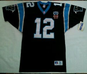 1995 RUSSELL ATHLETIC PRO LINE AUTHENTIC CAROLINA PANTHERS KERRY COLLINS JERSEY