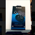 Brookstone Nano Touch Capacitive Touch Earbuds with Power Charging Case 75HR Wat