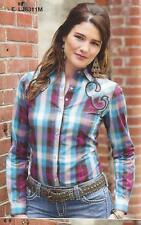 Wrangler Womens ROCK 47-Western Shirt- MULTI - Fully Embroidered - M - LJ8311M