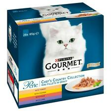 Purina Gourmet Perle Chef's Collection Mini Fillets in Gravy 28 x 85g Pouches