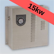 Thermolec 15kw electric hot water boiler radiant floor heating hydronic