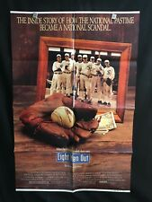 Eight Men Out 1988 One Sheet Movie Poster Chicago White Sox Baseball John Cusack