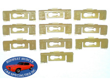 73-79 Ford Pickup Truck Tailgate Tail Gate Moulding Molding Trim Clips 10pcs DD