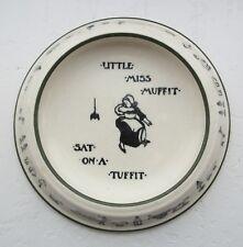 Rare Antique Royal Doulton Little Miss Muffit Nurseryware Bowl Plate