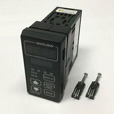 Watlow 996D-11Cc-Cugr Temperature Process Controller, Dual Channel, 24Vdc