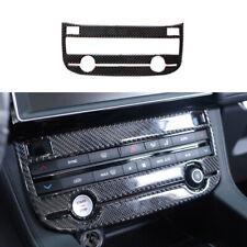 Window Lift Panel Switch Cover Trim For Jaguar XF 2016-2020 Real Carbon Fiber