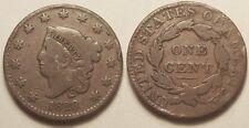 Etas-Unis, Cent 1828 !!