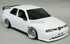 1/10 RC Car BODY Shell ALFA ROMEO 155 GTA 190mm WHITE *FINISHED* #48476