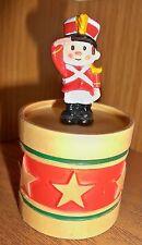 HALLMARK Merry Miniature 1985 SOLDIER ON DRUM Container