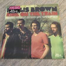 Hollis Brown Ride On The Train LP LTD Edition Pink Vinyl 2014 US 095081014015