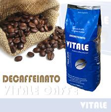 Caffè in grani 1 Kg. Vitale Caffè DECAFFEINATO Crema di Pregiata Arabica
